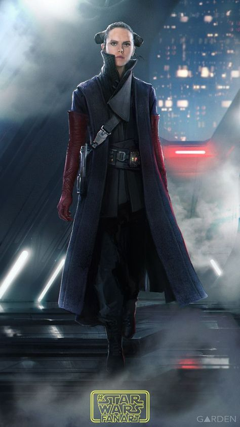 Artwork made for a #starwarsfanart thingy over at instagram. Ive tried to explo - Star Wars Costumes - Latest Star Wars Costumes #starwars #costumes #starwarscostumes -  Artwork made for a #starwarsfanart thingy over at instagram. Ive tried to explore a look for Rey that is reminiscent of Luke in Return of the Jedi. I will also add a breakdown of components and storytelling I wanted to get across in this design using elements of Luke Leia Vader and Padme.
