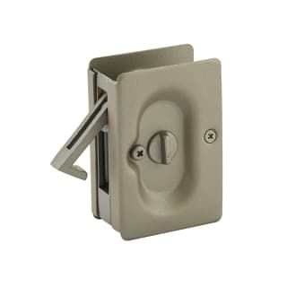 Emtek 2102us15a Pewter 3 1 2 Inch Height Solid Brass Privacy Pocket Door Lock Pocket Door Lock Door Accessories Emtek