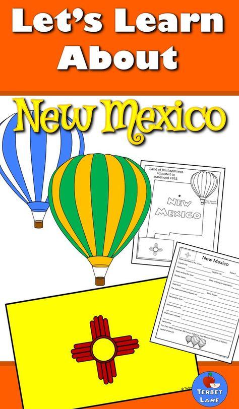 New Mexico History And Symbols Unit Study Collaboration Elementary