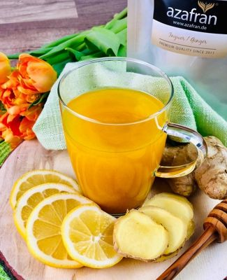 Zitronen-Hafer-Getränk zur Gewichtsreduktion