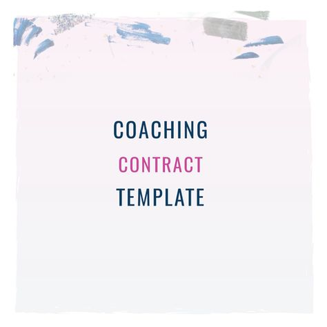 Best Contract Templates Images On   Templates