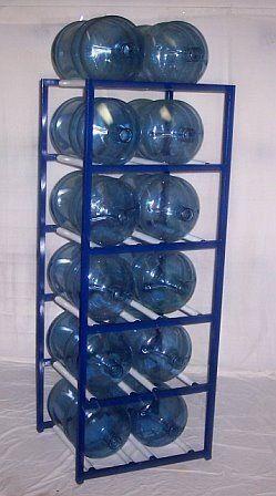 Shaco Racks 5 Gallon Water Bottle Storage Rack With 12 Bottle