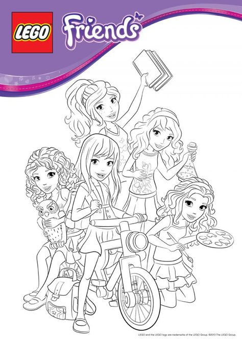 Lego Friends Birthday Party « Doofenshmirtz Costume and Phineas and - best of lego friends coloring in pages