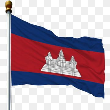 Cambodia National Flag Waving Flag Flagpole Flag Flagpole With Flag Flying Flag With Flagpole Cambodian Flag Png Transparent Clipart Image And Psd File For F In 2021 National Flag Cambodian Flag Flag