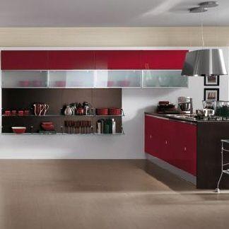 cucina scavolini flirt ral 3003 | fontana house | Pinterest | House