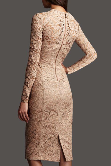 Lace hip dress package_Dresses(d)_DESIGNER_Voguec Shop
