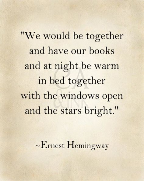 Ernest Hemingway, Ernest Hemingway Quote, Art Print Quote, Classic Literature, Gift For Book Lovers,