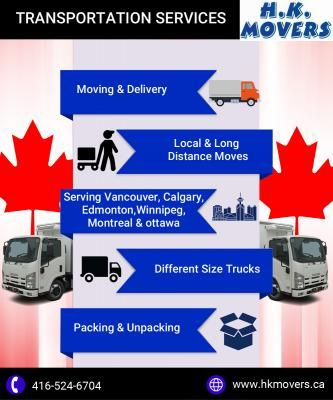 Long Distance Moving Services In Canada Long Distance Moving Companies Moving Long Distance Transportation Services