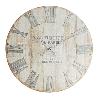 An Antique Style Clock That Doesn T Cost A Fortune In Cash And Time Spent Treasure Hunting You Better Believe It Our Exclus Wall Clock Oversized Clocks Clock