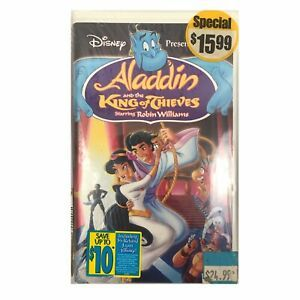 Aladdin And The King Of Thieves Vhs 1996 Vintage 90s Vhs Tape