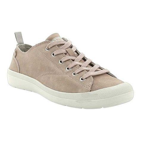 23497b403cf Palladium Women's Wander Lace Leather Sneaker Whisper Pink/String ...