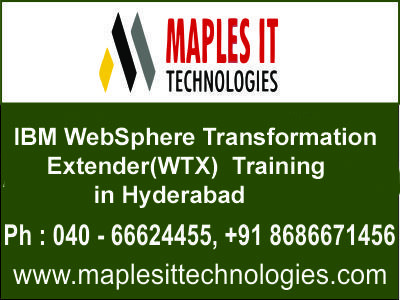 Maples IT Techologies provides IBM WebSphere MQ Administration - websphere message broker sample resume