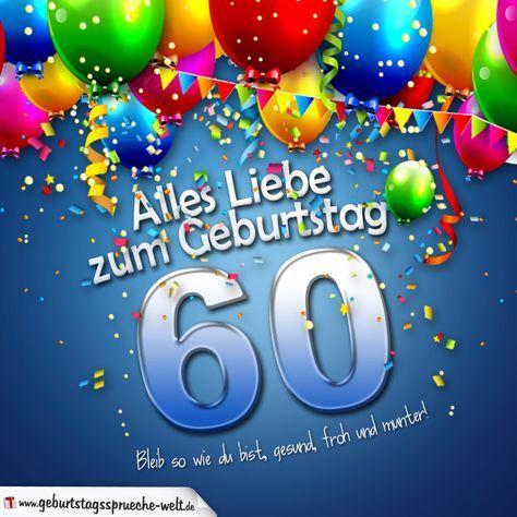 Geburtstagskarte Mit Bunten Ballons Konfetti Und Luftschlangen Zum