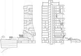 """14-story """"Study Cascade"""" at Columbia University Medical Center plans"""