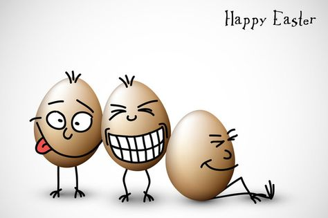 Happy Easter Funny Card by Orson on @creativemarket
