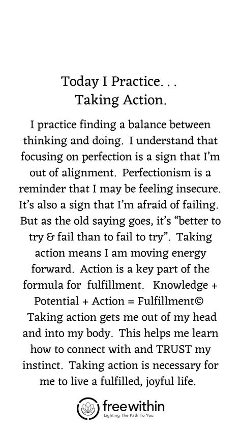 "Have you found that #affirmations don't really work for you? I had the same challenge. Try this #lifestrategy instead; it's called ""I Practice"". Practicing something helps you build #strength and #resilience and long-lasting #mindhabits. This week's life strategy is ""Taking Action"". Practice this for a week and let me know how it goes for you. #createjoy #gratitude #aligned #sundayspirituality #sundayservice #seva #family #momlife #parentingtips #fulfilment #fullfilment #action #unstoppable"