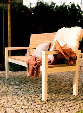 Gartenbank Aus Douglasie Larche Bangkirai Oder Thermoesche Fur Maximal Vier Personen Deinorig Gartenbank Selber Bauen Banke Garten Gartenmobel Selber Bauen