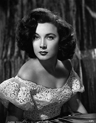 Vintage Art Poster Silver Screen Actress Maria Gianna Canale A4 A3 A2 A1