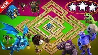 Best Th12 War Base Anti Electro Dragon 11