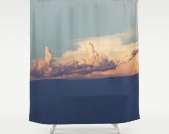 Southwestern Decor Shower Curtain White Sands Desert Decor