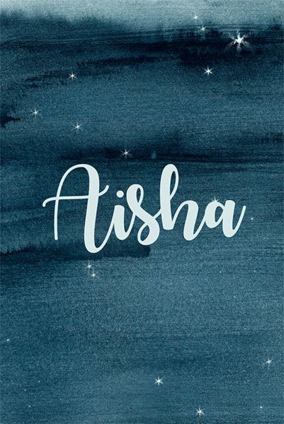 Aisha - Celestial Baby Names for Your Little Star - Photos