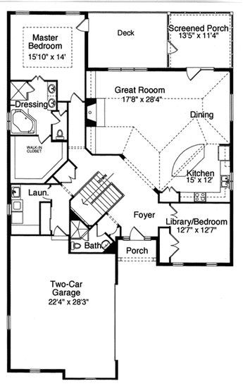 Plan 39078st Great Expansion Possibilities House Plans And More House Plans L Shaped House Plans