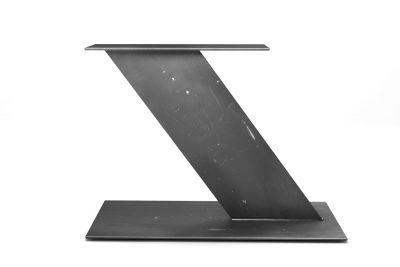 Flachstahl Mittelfuss Tischgestell Aus Purem Stahl Baumstamm Tisch Tisch Tischgestell Stahl