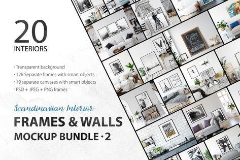 Frames & Walls Scandinavian Bundle-2