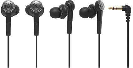 Audio Technica Solid Bass In Ear Headphone Accs Review Audio Technica In Ear Headphones Black Headphones