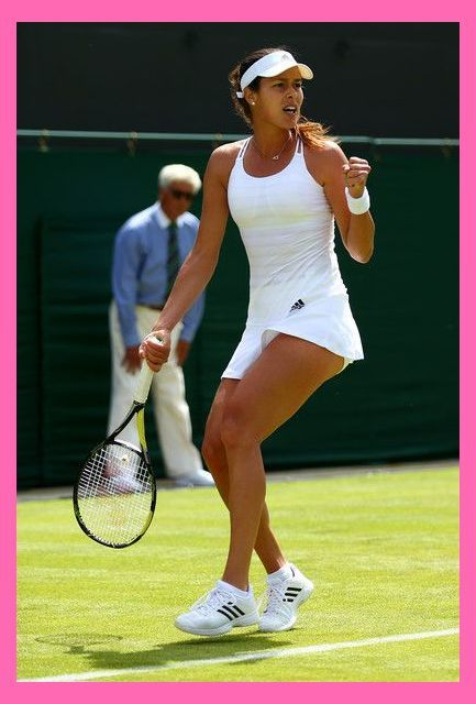 Ana Ivanovic Photos Photos Day One The Championships Wimbledon 2015 Tennis Outfit Men Tennis Outfit Women Tennis Clothes Tennis Players Female