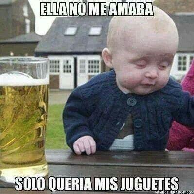 Pin De Cristian Javier Morales En Bromas Borrachos Imagenes Graciosas Memes De Bebe