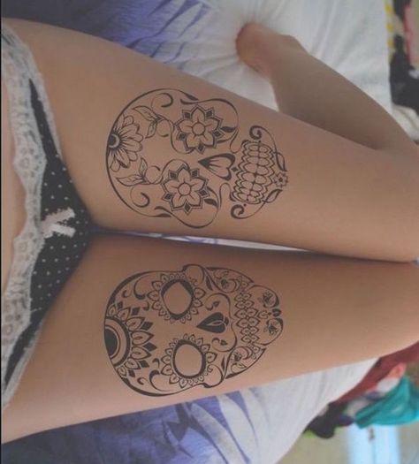 List Of Pinterest Mangala Tattoo Thigh Hip Henna Designs Pictures