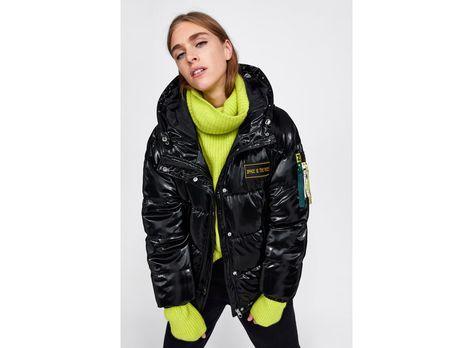 Faux Vinyl Puffer Jacket Jackets Jackets For Women Puffy Jacket