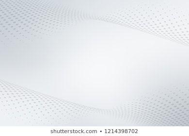 Elegant White Gray Modern Bright Wave Halftone Dots Art Background