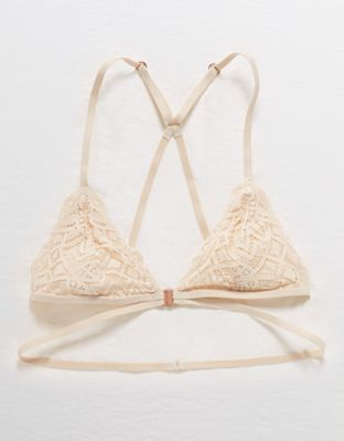 Aerie Castaway Lace Triangle Bralette By American Eagle Outfitters