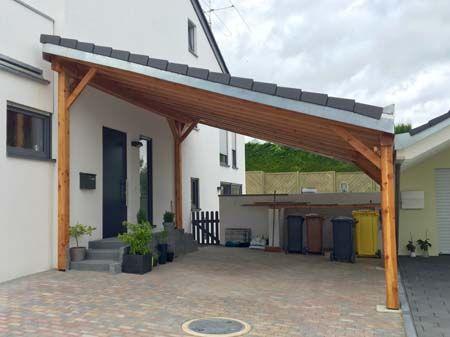 Home Carports Carports Und Uberdachungen Aus Holz Und Metall Carport Holz Garage Aus Holz Pultdach