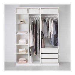 Pax Armoire Penderie Blanc Bedroom Diseño De Armario