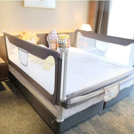 Bed Rail For Kids 150 180 200cm 3 Sides Bed Rail Extra Long For Toddler Safety Vertical Down Be In 2020 King Size Bed Rails Bed Rails For Toddlers Queen Size Bedding