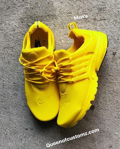 12b42c31bb6c21 Sunshine Yellow Nike Presto custom PLEASE READ full