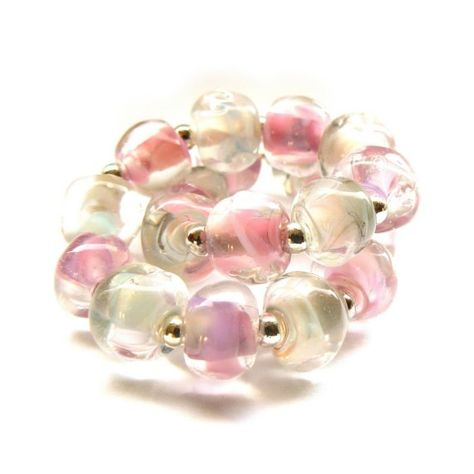 Pink and White Pebbles