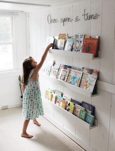 Diy Playroom Book Storage En 2020 Avec Images Deco Chambre