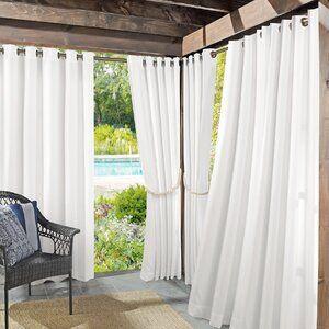 Multi Purpose Room Divider Curtain Track Indoor Outdoor Curtains