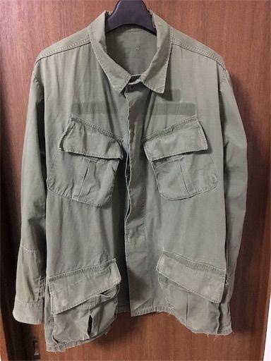 ジャングルファティーグジャケット4thを買った 高騰しまくり ヨコカラログx おじさん ファッション ミリタリー ファッション