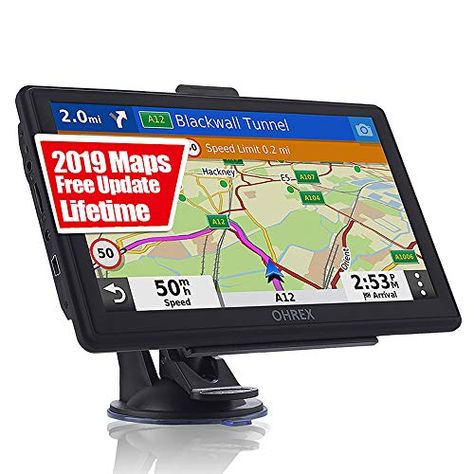 Gps Navigation For Car Truck Rv 7 Inch Touch Screen Vehicle Gps