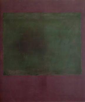 PRINT 0483 24x36 SHRINK WRAPPED MARK ROTHKO VIOLET GREEN ART POSTER