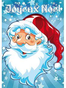 Cartes de Joyeux Noël à imprimer sur Hugolescargot | Carte joyeux