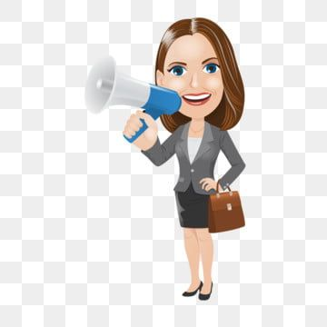 Horn Shout Shouting Cartoon Cartoon Business Business Man Business Woman Png And Vector With Transparent Background For Free Download How To Draw Hands Cartoon Horns