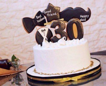 Birthday Cake For Men Boyfriends 30th 52 Ideas Cake Birthday Chocolatebirthdaycake Em 2020 Bolos De Aniversario Para Homens Queques Bolo Festa Infantil