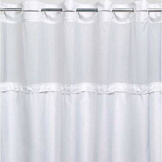 Registry Hook Free Replacement Shower Curtain Liner White 70 X 57 In 2020 Curtains Shower Bath Linens