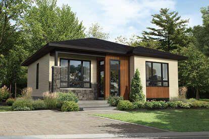 House Plan 034 01127 Modern Plan 1 212 Square Feet 2 Bedrooms 1 Bathroom In 2020 House Exterior Exterior House Siding Modern House Plan